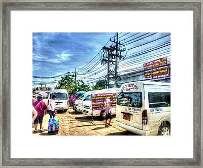 Asia Street Framed Print by Yury Bashkin