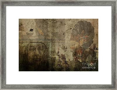 Asian Background Framed Print by Patricia Hofmeester