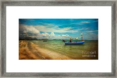 Asian Beach Framed Print