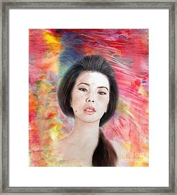 Asian Beauty IIi Framed Print