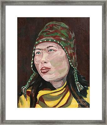 Asian Warrior Framed Print by Robert Yaeger