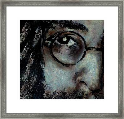 Ask Me Why Framed Print by Chad Rice