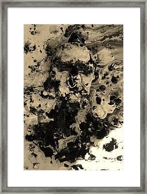 Asleep Framed Print by David King
