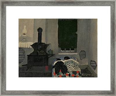 Asleep Framed Print