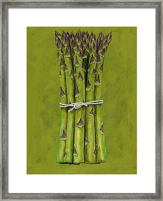 Asparagus Framed Print by Brian James