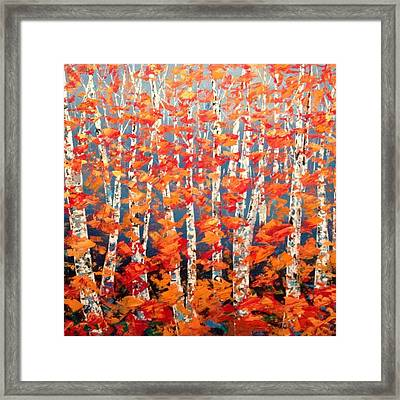Aspen Abstract No. 2  Framed Print