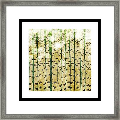 Aspen Colorado Abstract Square 3 Framed Print by Andee Design