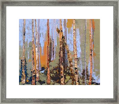 Aspen Forest Colorado Framed Print