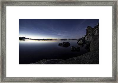 Aspen Glow Framed Print by Brad Scott