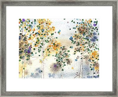 Aspen Grove Framed Print by Dawn Derman