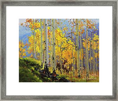 Aspen Kingdom Framed Print