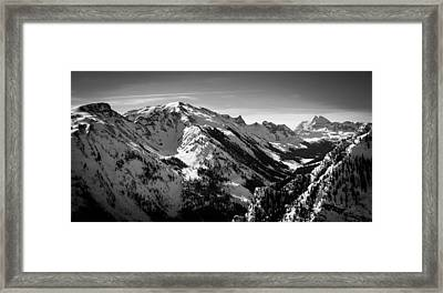 Aspen Winter Framed Print