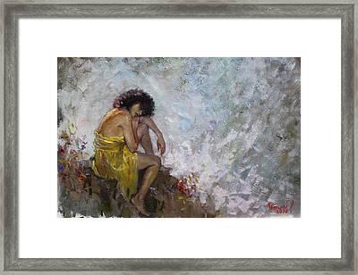 Aspettando Framed Print by Ylli Haruni
