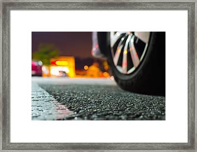 Asphalt Framed Print by Michael Williams