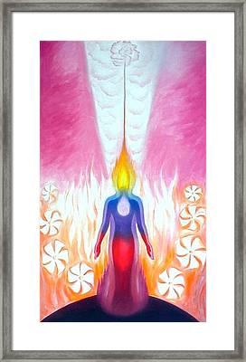 Aspiration - Answer Framed Print by Shiva  Vangara