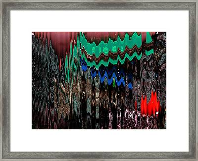 Aspirations To New Dimensions Framed Print by Anne-Elizabeth Whiteway