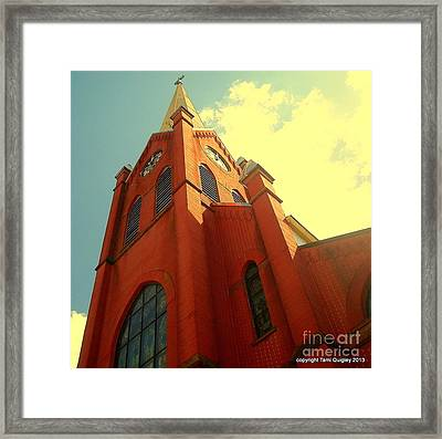 Aspire Framed Print by Tami Quigley