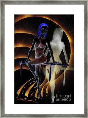 Aspire To Dream Framed Print by Kenneth Clarke