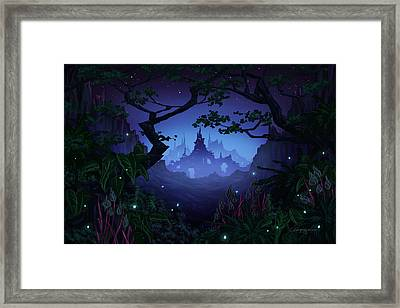 Aspiria Framed Print by Cassiopeia Art