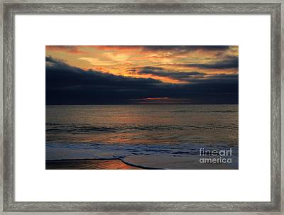 Assateague Sunrise Framed Print