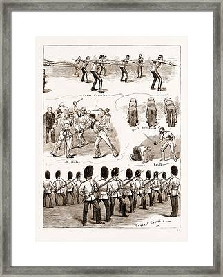 Assault-at-arms At The Albert Hall In Aid Of The Afghan War Framed Print by Litz Collection
