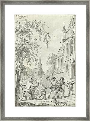 Assaulting Reformed Near Vaals The Netherlands Framed Print by Quint Lox