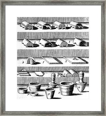 Assaying Framed Print by Universal History Archive/uig