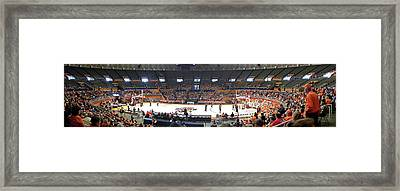 Assembly Hall University Of Illinois Framed Print by Thomas Woolworth