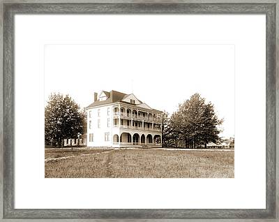 Assemby Sic Hotel No. 2, Lake Orion, Mich Framed Print