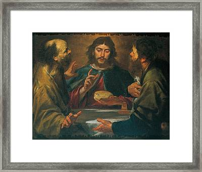 Assereto Gioacchino, The Supper Framed Print by Everett