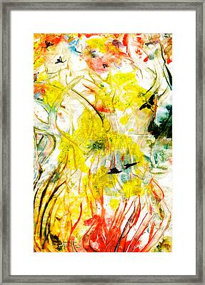 Framed Print featuring the painting Assiduous by Ron Richard Baviello