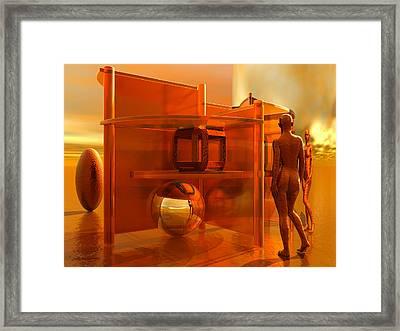 Assignation Framed Print by Judi Suni Hall