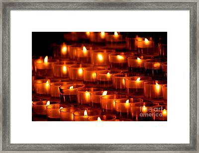 Assisi - 14 Framed Print by Theresa Ramos-DuVon