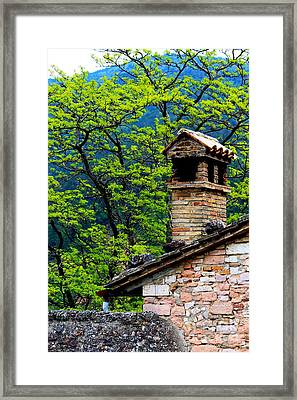 Framed Print featuring the photograph Assisi 2 by Theresa Ramos-DuVon