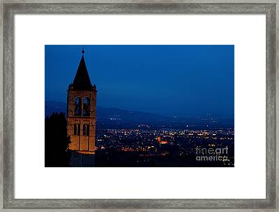 Framed Print featuring the photograph Assisi 5 by Theresa Ramos-DuVon