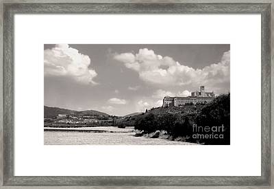 Assisi Italy -  Basilica Of San Francesco D'assisi Framed Print by Gregory Dyer