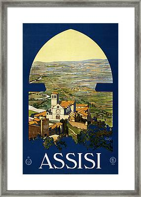 Assisi Italy Framed Print