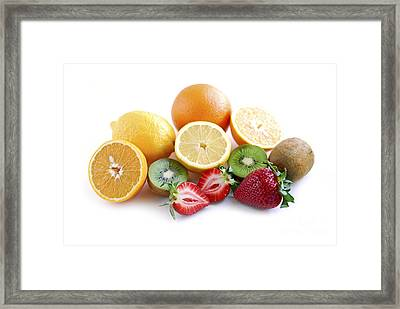 Assorted Fruit Framed Print