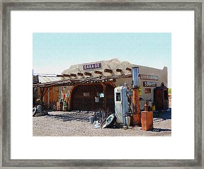 Assorted Junk Framed Print