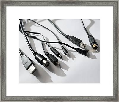 Assortment Of Leads Framed Print