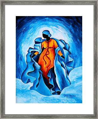 Assumption  Advocata Nostra Framed Print by Patricia Brintle