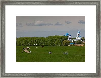 Assumption Cathedral, Bogolyubovo Framed Print by Panoramic Images