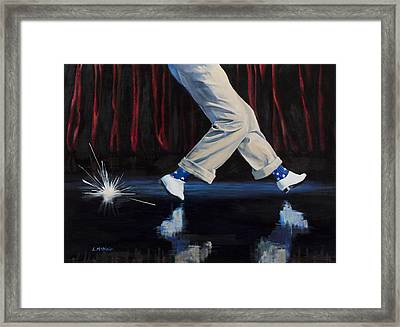 Astaire Framed Print by Loretta McNair
