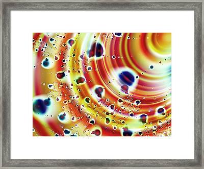 Asteroid Belt Framed Print by Anastasiya Malakhova