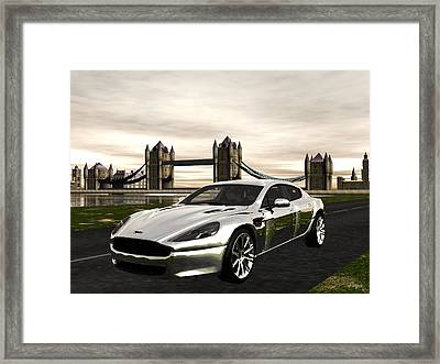 Aston Framed Print by John Pangia