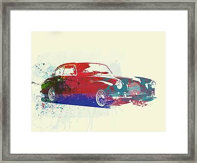 Aston Martin Db2 Framed Print by Naxart Studio