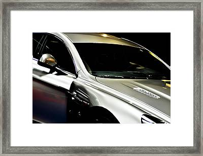 Aston Martin Rapide Framed Print by Ronda Broatch