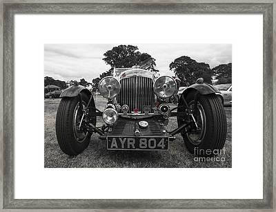 Aston Martin Roadster  Framed Print