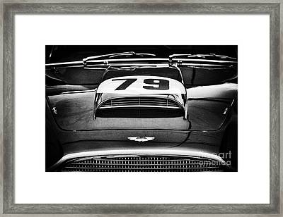 Aston Martin Superleggera Framed Print