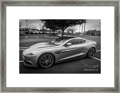 Aston Martin Vanquish V12 Trix Edition Framed Print by Robert Loe